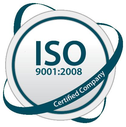 ISO 9001:2008 Logo